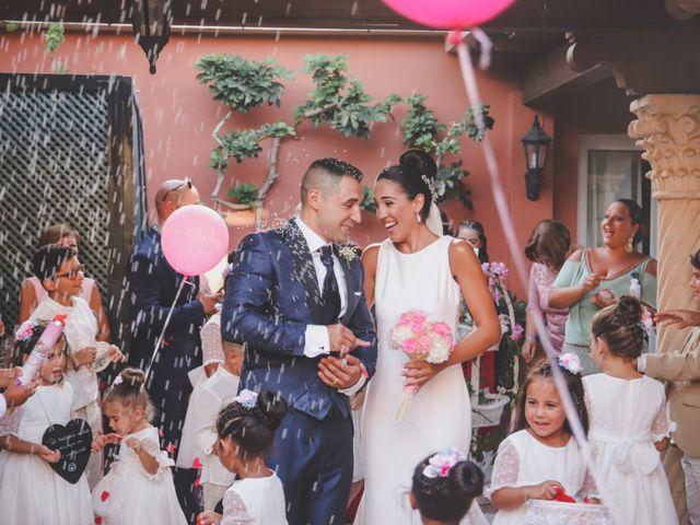 La boda de Candela y Francisco en Algeciras, Cádiz 45