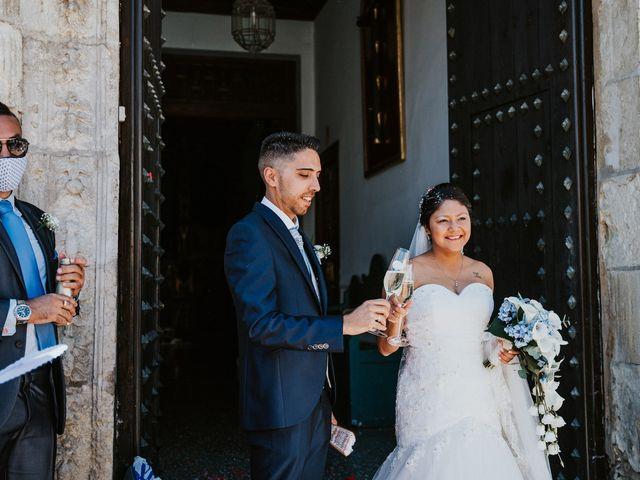 La boda de Jorge y Karol en Granada, Granada 8