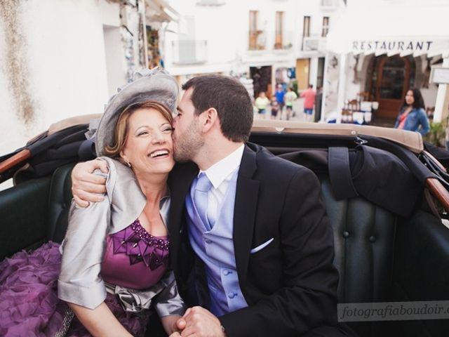 La boda de Alberto y Sara en Peñiscola, Castellón 4
