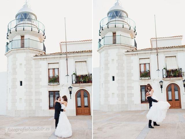 La boda de Alberto y Sara en Peñiscola, Castellón 16