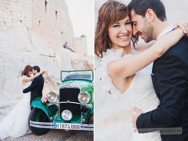 La boda de Alberto y Sara en Peñiscola, Castellón 18