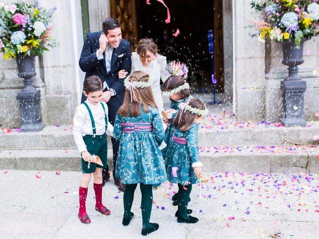 La boda de Iván y Sandra en  La Granja de San Ildefonso, Segovia 32
