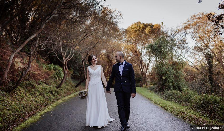La boda de Bilal y Izaskun en Berango, Vizcaya
