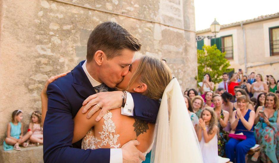 La boda de Pablo y Susana en Montuïri, Islas Baleares