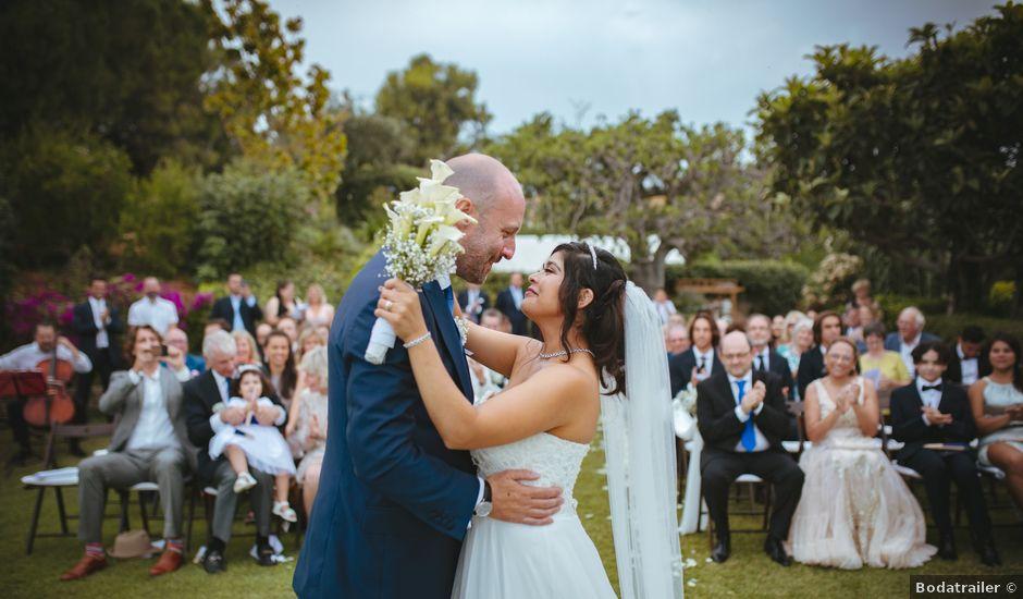 La boda de Fletcher y Andrea en Cabrils, Barcelona