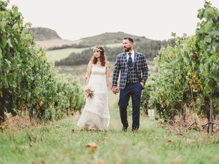 La boda de Katrín y Borja