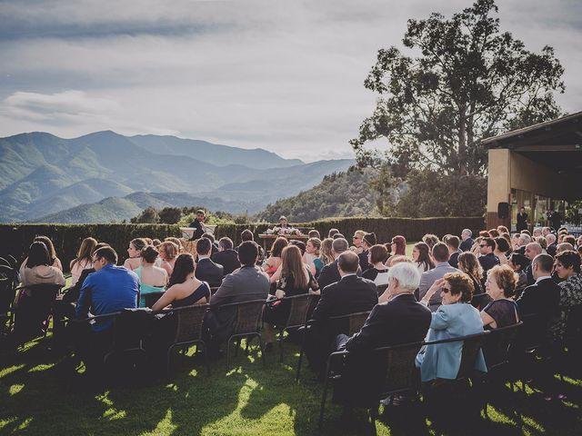 La boda de Alex y Anabel en Arbucies, Girona 75
