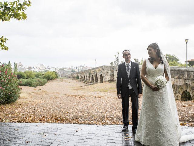 La boda de Laura y Luis en Mérida, Badajoz 1