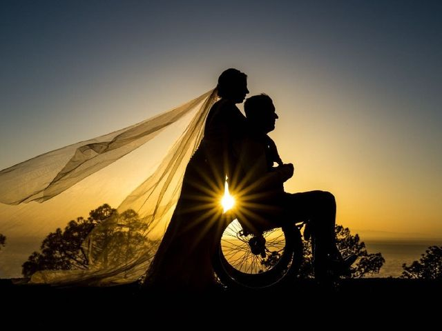 La boda de Rubén  y Ainhoa  en San Mateo, Las Palmas 2