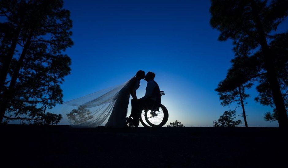 La boda de Rubén  y Ainhoa  en San Mateo, Las Palmas