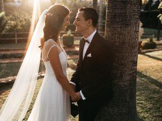 La boda de Majda y Ivan