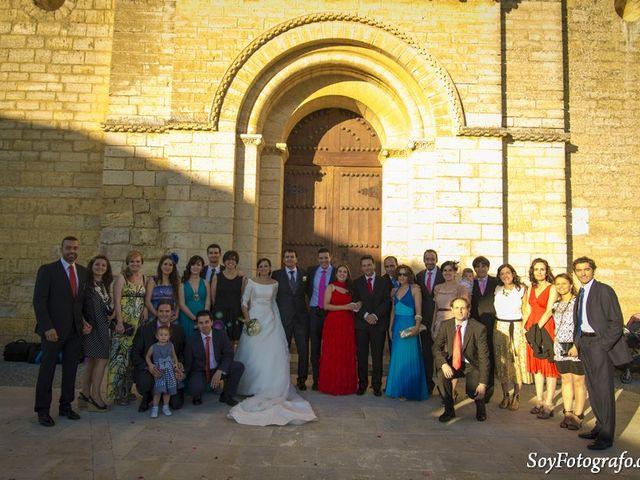 La boda de Fede y Elia en Fromista, Palencia 1