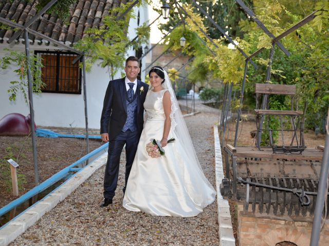 La boda de Mª Antonia y Sergio