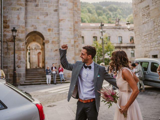 La boda de Markel y Saioa en Bergara, Guipúzcoa 22