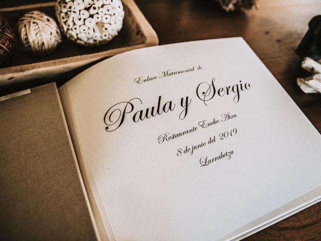 La boda de Sergio y Paula en Bilbao, Vizcaya 61