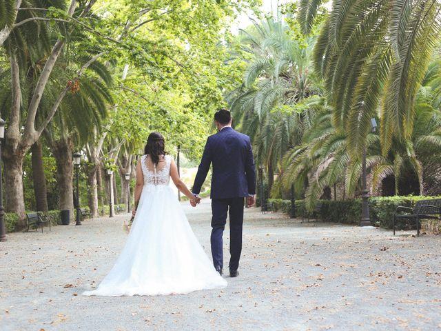 La boda de Ricardo Blanco  y Carla  en Málaga, Málaga 5