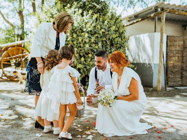 La boda de Joaquiñin y Sheila en Alcudia De Guadix, Granada 15