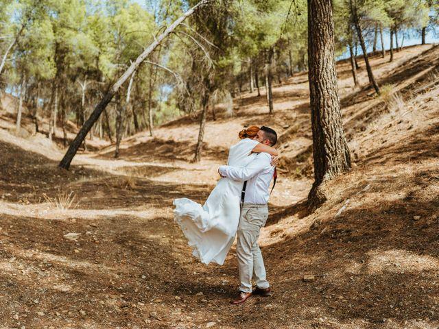 La boda de Joaquiñin y Sheila en Alcudia De Guadix, Granada 33