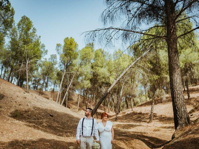 La boda de Joaquiñin y Sheila en Alcudia De Guadix, Granada 35