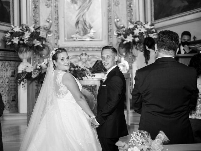 La boda de Abraham y Alba en Godella, Valencia 1