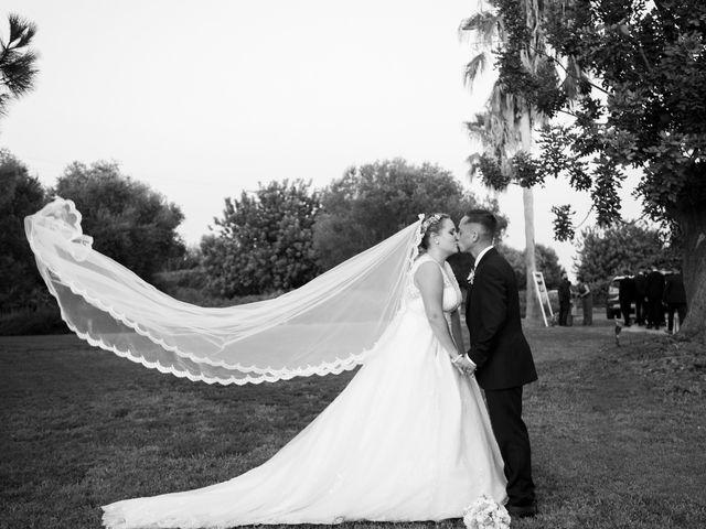 La boda de Abraham y Alba en Godella, Valencia 4