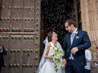 La boda de Rocío y Alberto