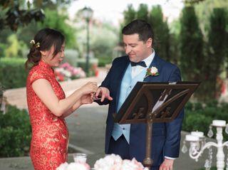 La boda de Xianwei y Javier
