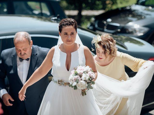 La boda de Iván y Leticia en Ferreira De Panton (Sta Maria), Lugo 36