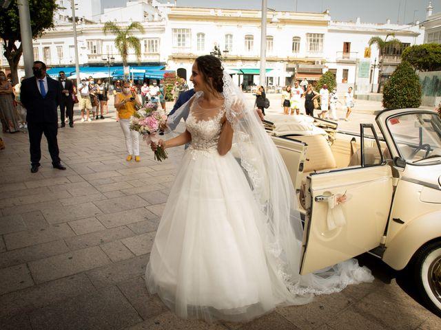 La boda de José y Laura en Chiclana De La Frontera, Cádiz 14