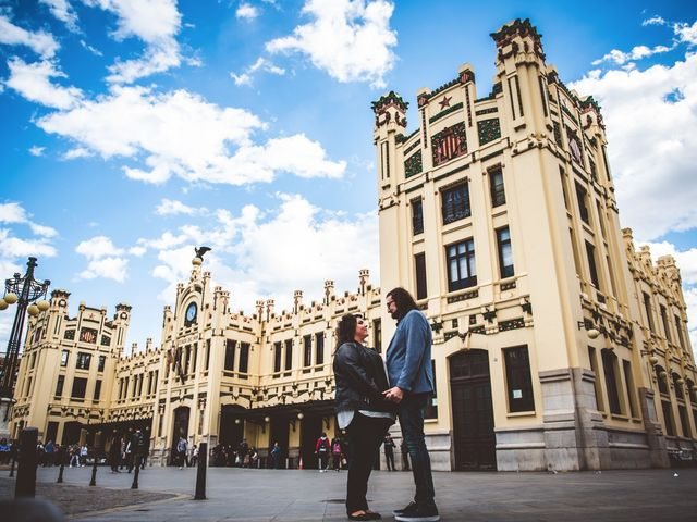 La boda de Nahúm y Cristina en Segorbe, Castellón 1