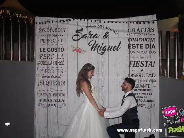 La boda de Miguel A. y Sara en Elda, Alicante 2