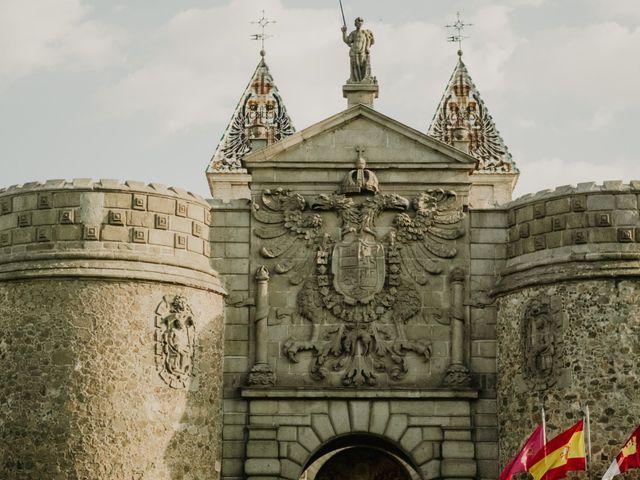 La boda de César y Lourdes en Toledo, Toledo 73