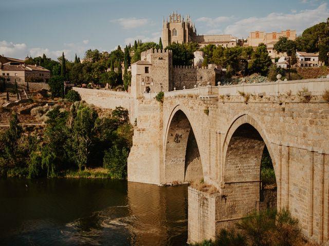 La boda de César y Lourdes en Toledo, Toledo 77