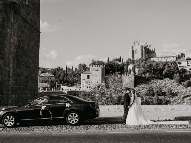 La boda de César y Lourdes en Toledo, Toledo 79