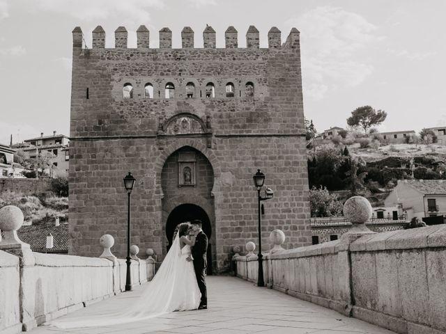 La boda de César y Lourdes en Toledo, Toledo 80