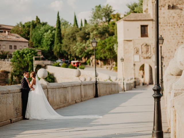 La boda de César y Lourdes en Toledo, Toledo 83