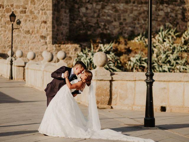 La boda de César y Lourdes en Toledo, Toledo 89
