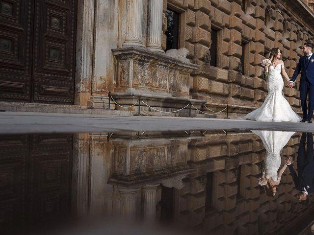 La boda de Alicia y Christian en Granada, Granada 25