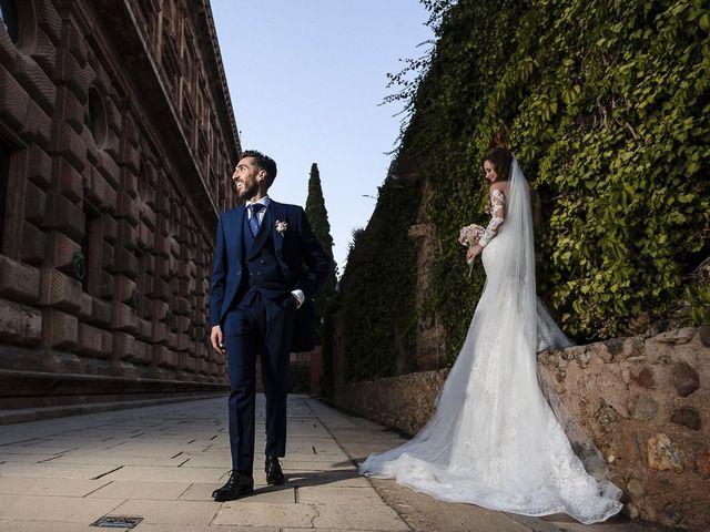 La boda de Alicia y Christian en Granada, Granada 28