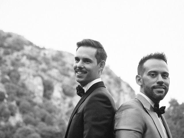 La boda de Emilio y Fabrice