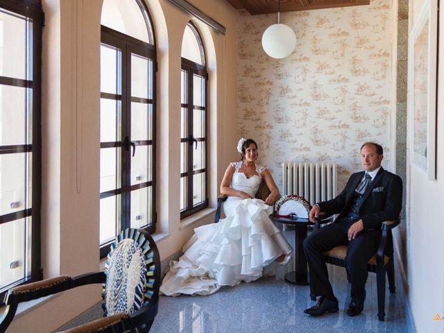 La boda de David y Cristina en Frades De La Sierra, Salamanca 7