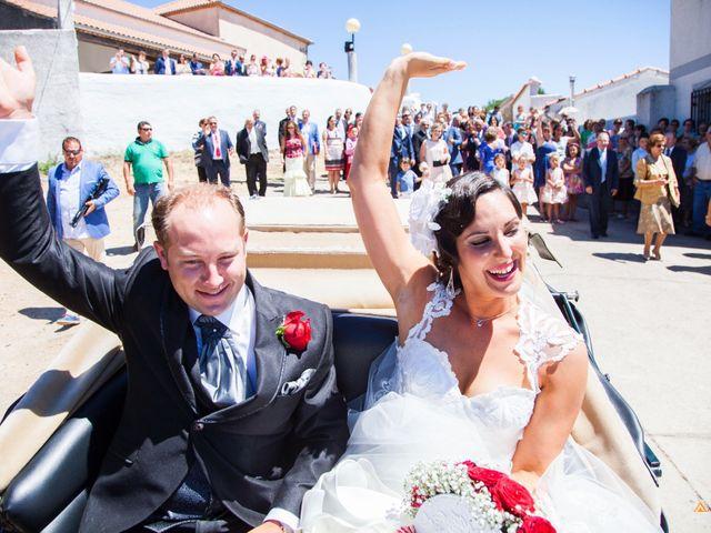 La boda de David y Cristina en Frades De La Sierra, Salamanca 9