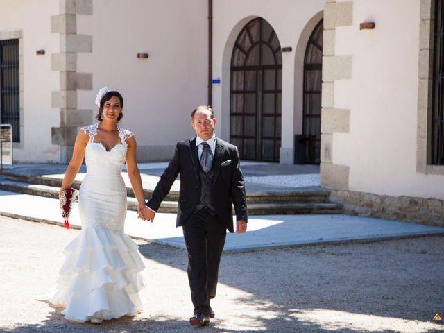 La boda de David y Cristina en Frades De La Sierra, Salamanca 16