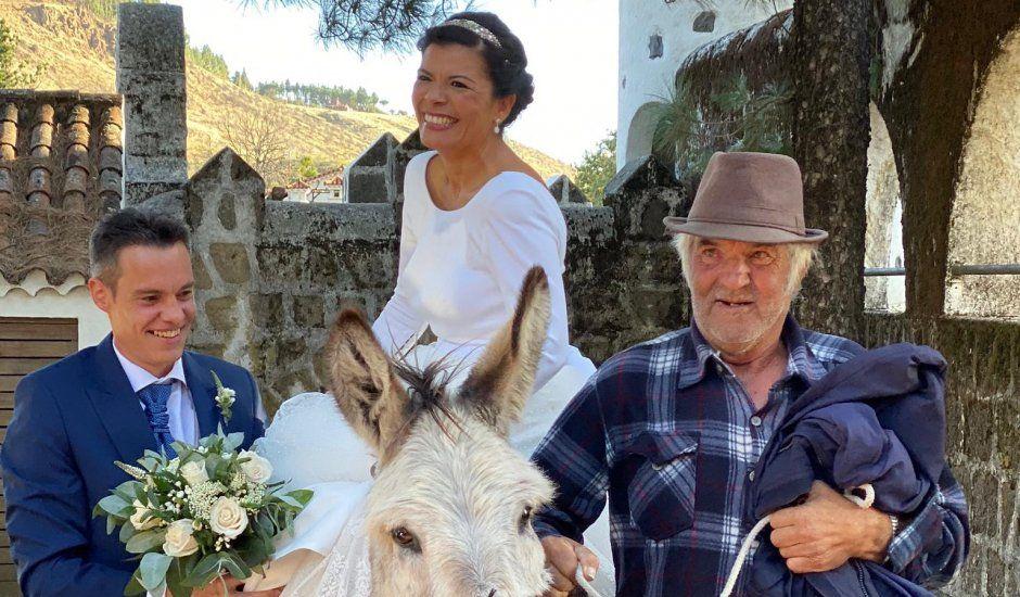 La boda de Iván  y Nayra en Cruz De Tejeda, Las Palmas