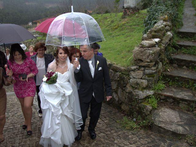 La boda de Jorge y Cris en Mougas, Pontevedra 1