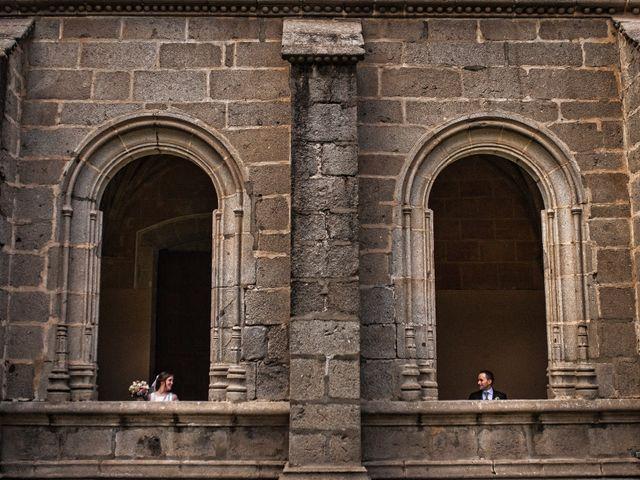 La boda de Carlos y Ángela en Ávila, Ávila 1