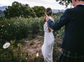 La boda de Lara y Graeme 1