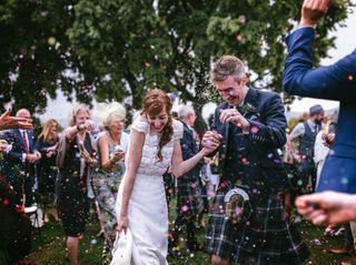 La boda de Lara y Graeme
