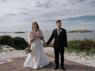 La boda de Flor y Joan