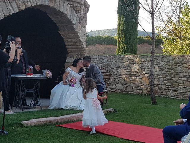 La boda de Dani y Puri  en Sallent, Barcelona 1